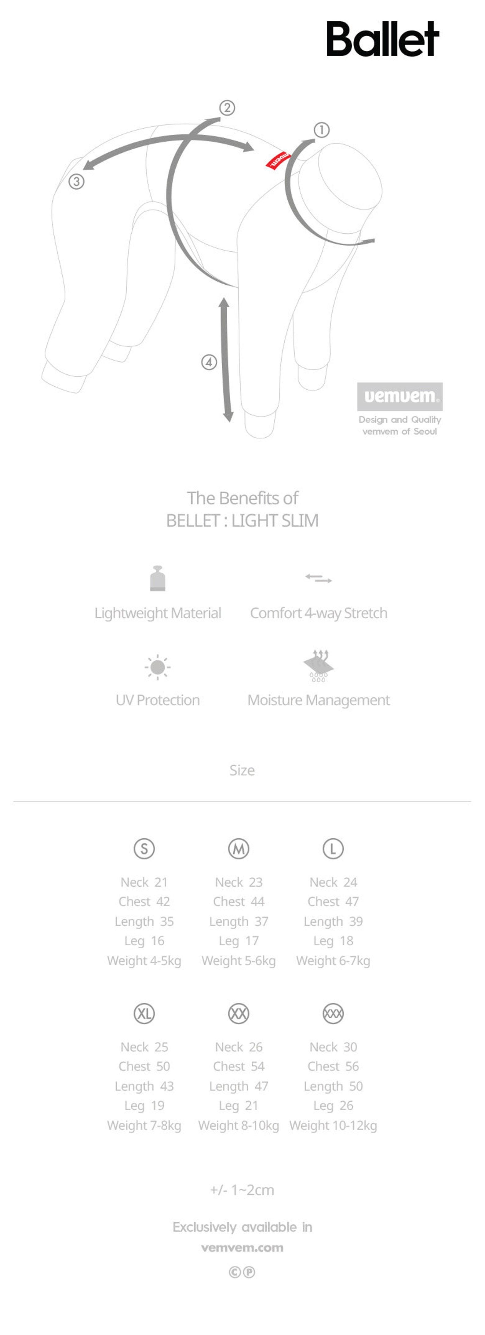 vemvem® ballet: light slim - olive green for italian greyhound