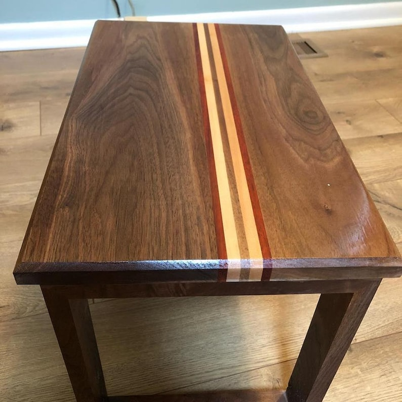 Wondrous Custom Walnut Lap Table Gmtry Best Dining Table And Chair Ideas Images Gmtryco