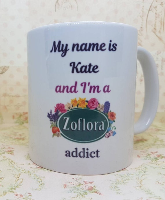 addict Personalised Mug