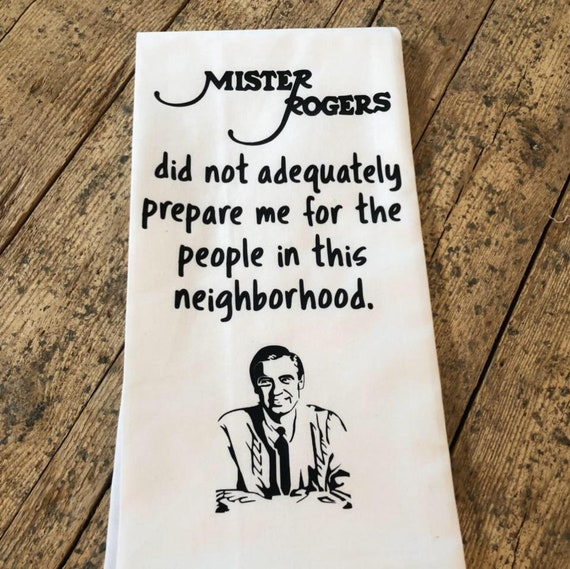 Mister Rogers Mr Rogers Mr Rogers Did Not Adequately Prepare Etsy