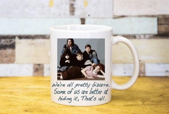 The Breakfast Club Coffee Cup Molly Ringwald Tea Cup Mug Etsy