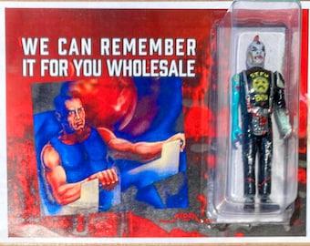 We Can Remember It For You Wholesale - Philip K Dick bootleg parody cyberpunk resin art figure AEQEA x RutRo Toys
