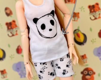 Pajama Sewing Pattern - Slim Mini BJD (MNF, Withdoll Mini, Narae, Bimong, etc.)
