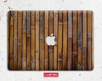 buy popular a8ad8 de4f7 Bamboo macbook case   Etsy