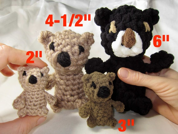 Rilakkuma Inspired Teddy Bear Amigurumi Crochet Pattern ... | 427x570