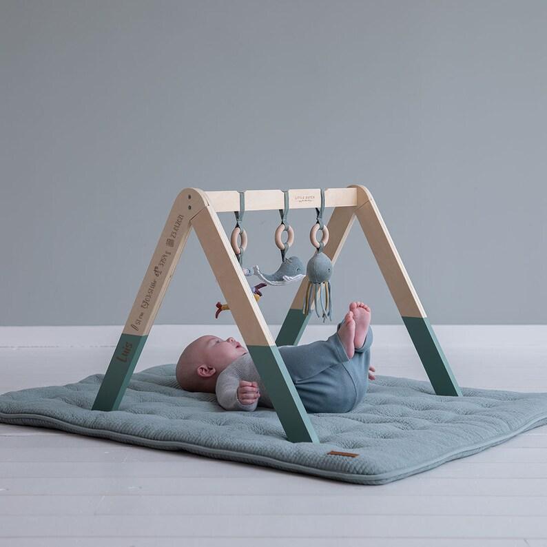 Arche en bois thème marin - Créatrice ETSY : SchmatzepufferKids