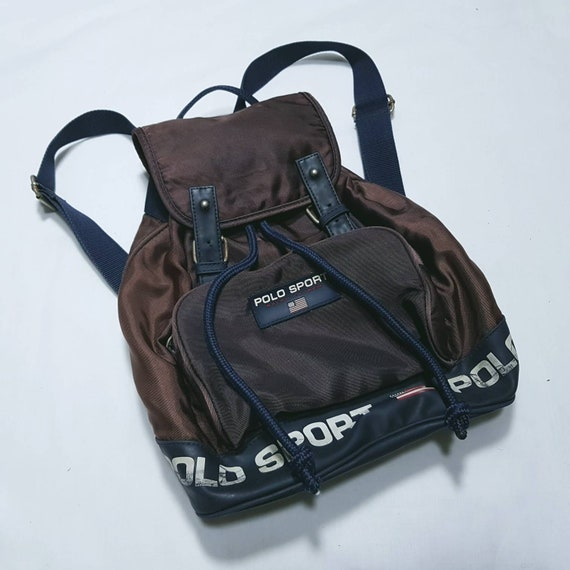Vintage Polo Sport Bag