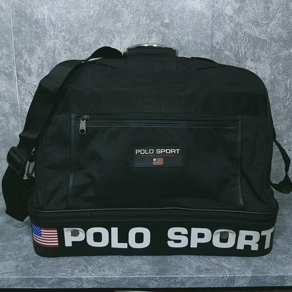 Vintage Polo Sport Travel Bag