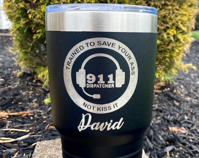 Dispatcher 30 Ounce RTIC Coated Tumbler