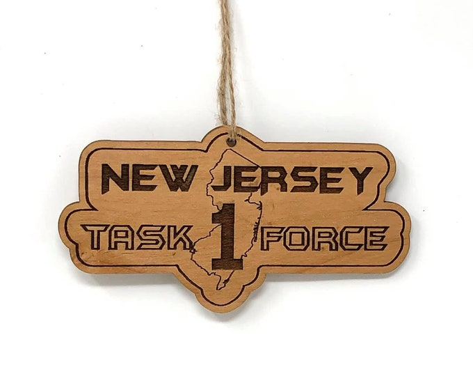 NJ Task Force Ornament