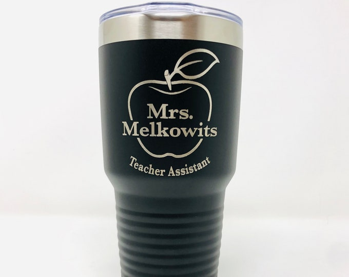 Teacher 30 Ounce Polar Camel Powder Coated Tumbler