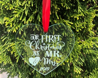 First Christmas Acrylic Ornament