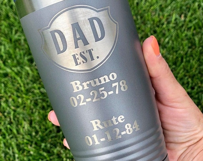 Dad or Grandpa 20 Ounce Polar Camel Powder Coated Tumbler