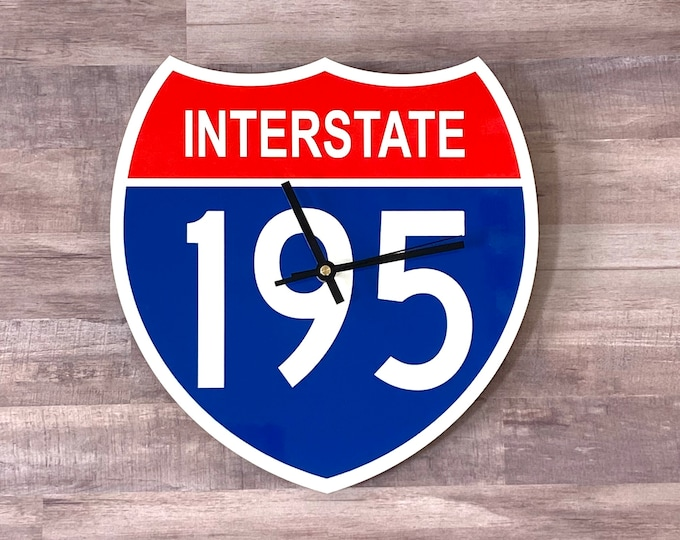 Interstate 195 Highway Clock