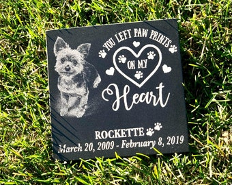 6x6 Granite Dog/Cat Memorial Plaque