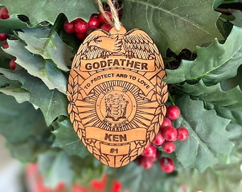 Godfather Police Ornament