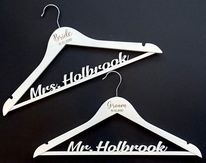 Bride and Groom Hangers