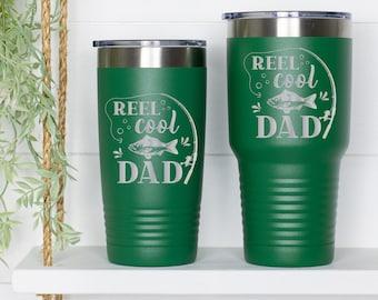 Reel Cool Dad Fishing Tumbler