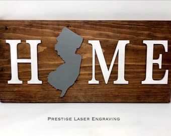 Home State Sign