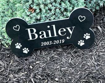 Granite Dog Bone Memorial