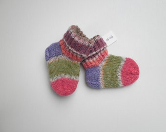47a518733e6f1 Items similar to Baby socks size 19/20, S424 on Etsy