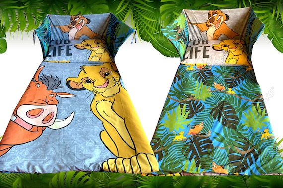 Lion King Simba Cot Crib Bedding Set, Baby Crib Bedding Set Lion King