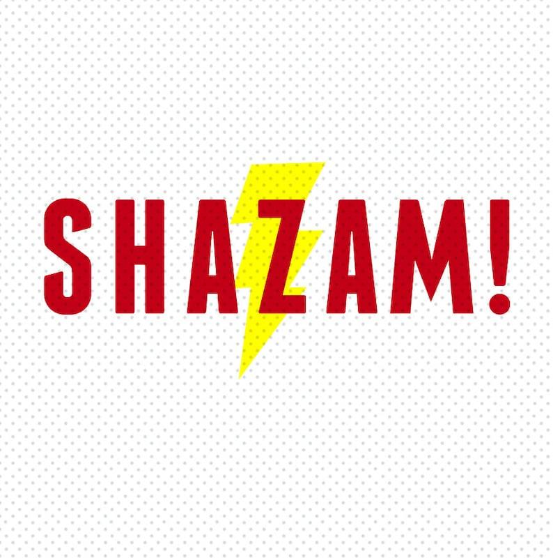 Shazam 2019 Movie Logo SVG