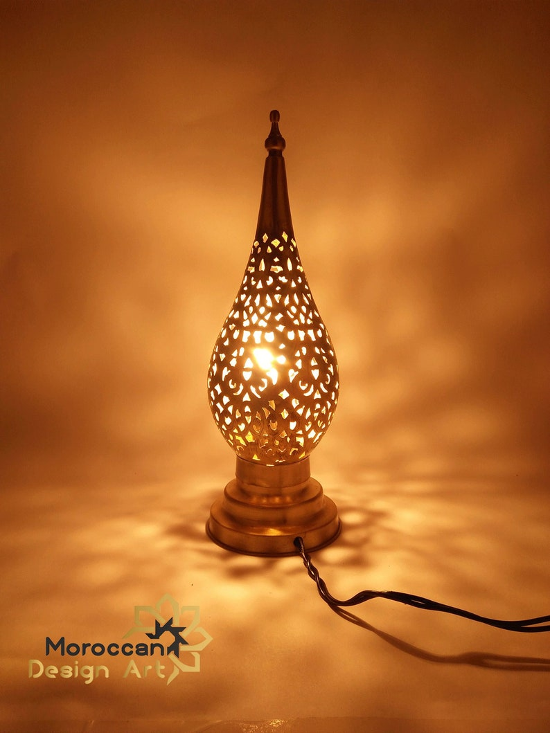 Moroccan Lamp standing  copper lamp wedding light style glass lamp shades hurricane lampshade moroccan luxury