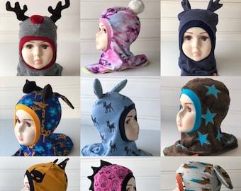 Balaclava sewing pattern bundle - Urk! Balaclava Bonanza! (English version)