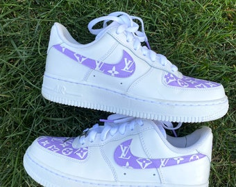 Painted air force 1 | Etsy