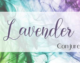 Lavender Infused Conjure Oil for Sleep, Peace, Relaxation