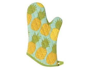 Pineapple /& Watermelon Fruit Oven Mitt  Pot Holder Combo Set of 2