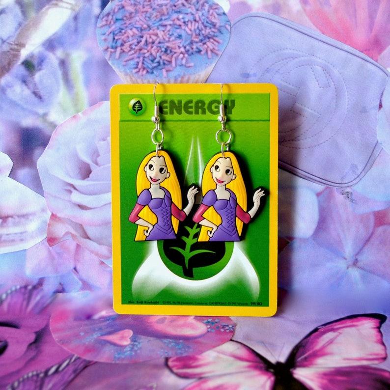 Sterling Silver Rapunzel Earrings inspired by Disney/'s Tangled