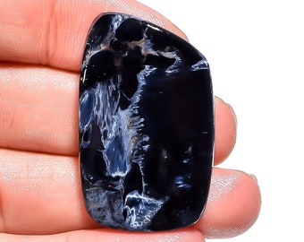 36Ct 100/% Natural Pietersite  Fancy Cabochon Gemstone For Jewelry 37X23X5mm