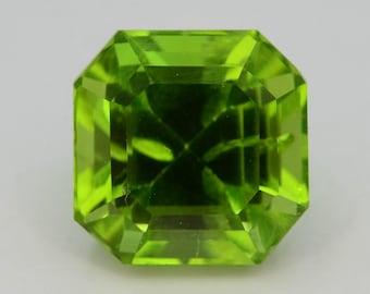 Apple Green 4.05 Ct Natural Himalayan Peridot H.M