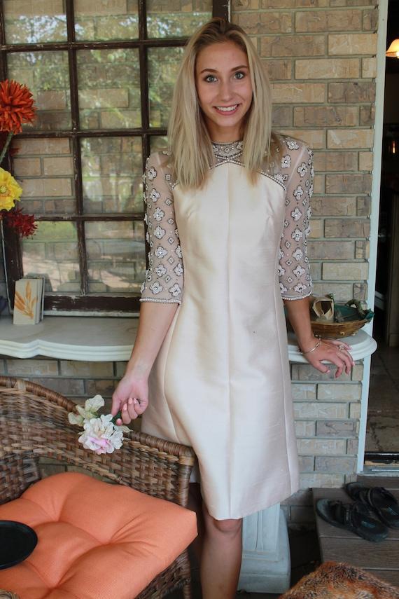 Vintage Rose Gold Dress