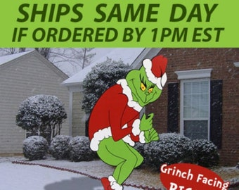 Grinch Stealing Christmas Lights Template.Grinch Stealing Lights Etsy