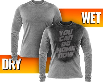 cc063d55 Long Sleeve Sweat Activated Men's Fitness Shirt – You Can Go Home Now  Activating Workout TShirt - Gym, Bodybuilding & Running Gift T Shirts