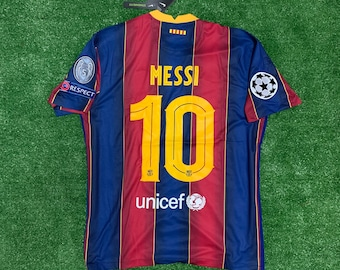 Messi Jersey Etsy