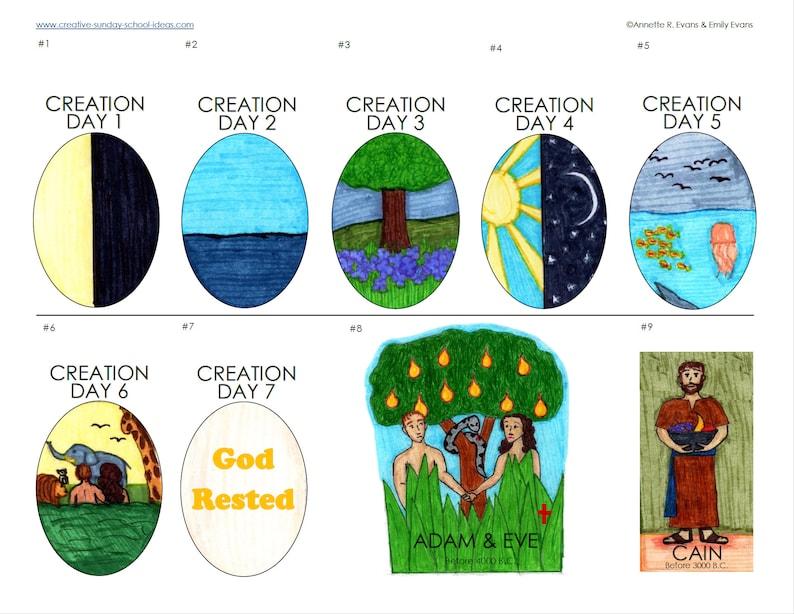 Bible Timeline Figures  INSTANT DOWNLOAD  Printable image 0
