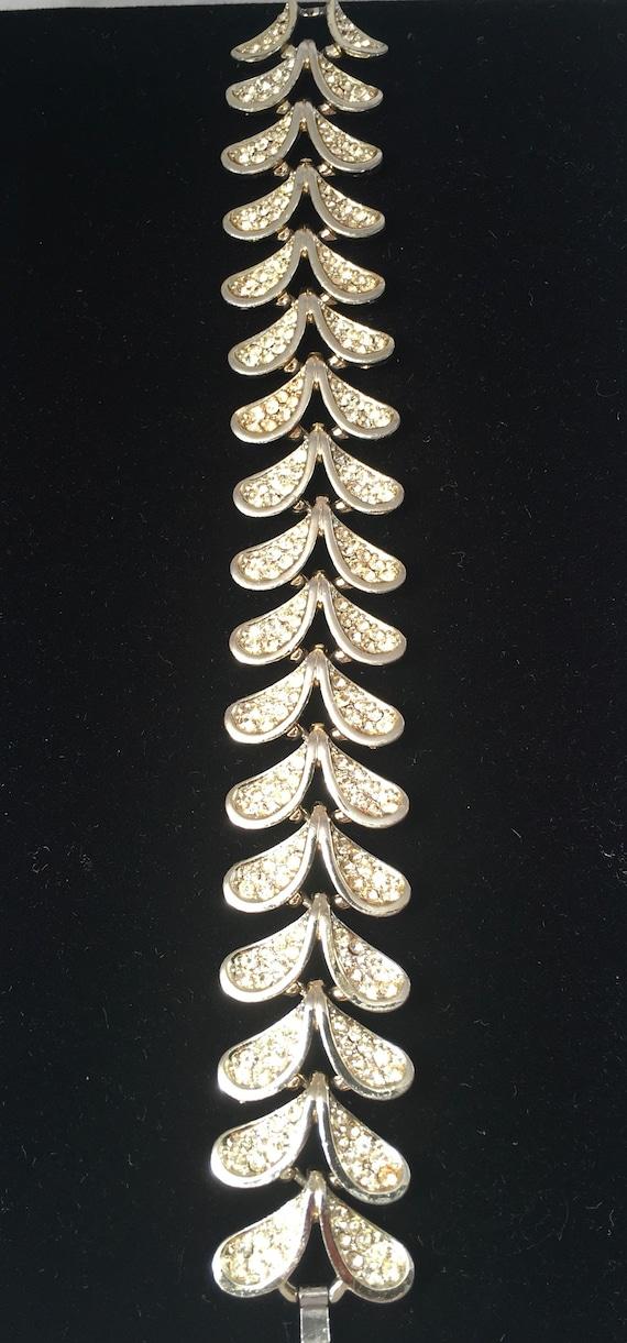 Kramer Rhinestone Bracelet - image 1