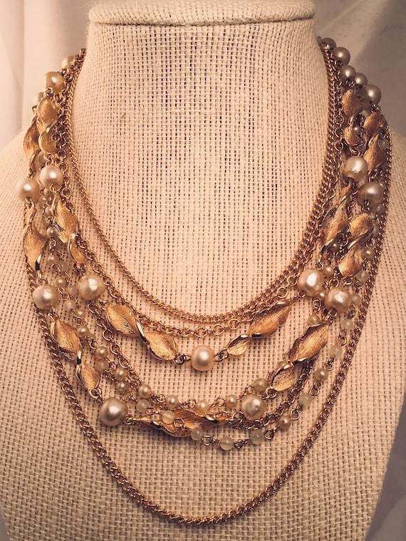Vintage Kramer Multi-Chain Necklace