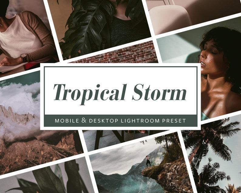 6 Mobile & Desktop Lightroom PresetsTropical Storm  Filters image 0