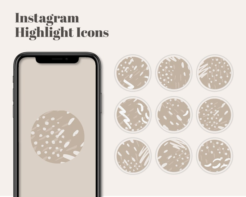 Instagram Stories Highlight Cover Icons  Social Media image 0