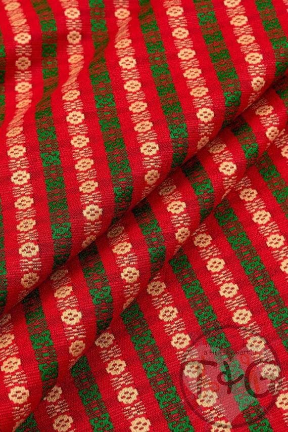 Ethnic Fabric Ethnic Boho Decorative Cloth Ukrainian Vyshyvanka Fabric National Style Cloth Ethnic Style Cloth Machine Woven Fabric