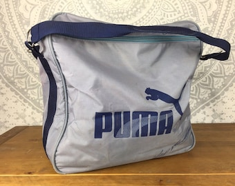 9dff972c46 VINTAGE Retro Old School PUMA Carry Bag