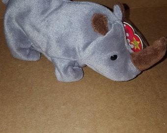 00523707c46 Retired Ty original Spike beanie baby