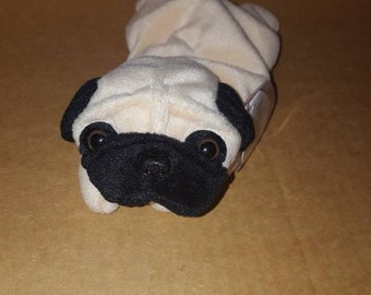 Retired Ty original Pugsly beanie baby 6509433d79