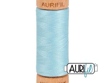 Aurifil 80wt Thread - #2805 - Light Grey Turquoise