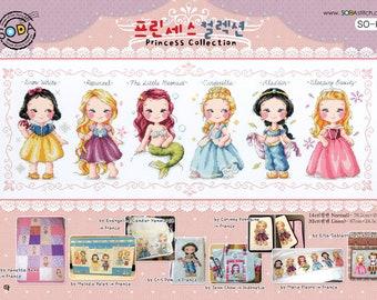 Princess Collection - Soda Stitch Counted Cross Stitch Pattern